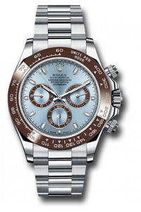 PLATINUM DAYTONA 116506 ICE BLUE DIAL