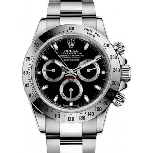 COSMOGRAPH DAYTONA 40MM STEEL 116520-BLACK